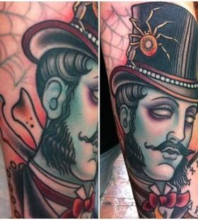 Gentelman-zombie-tattoo-by-W.-T.-Norbert-280x311