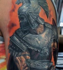 Gladiator-tattoo-by-Dmitriy-Samohin-280x311