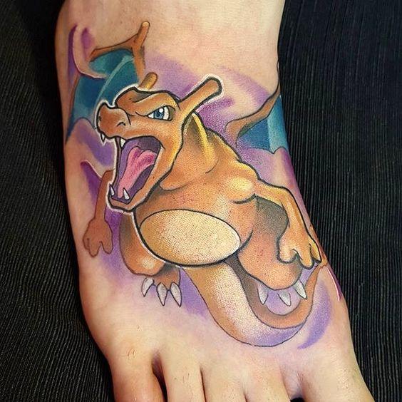 Charizard tattoos