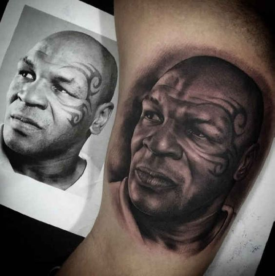 mike tyson tattoos