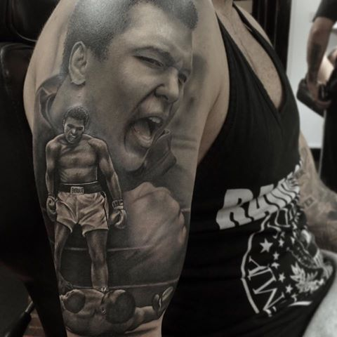 muhammad ali tattoos