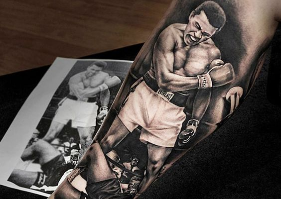 muhammad ali tattoos6