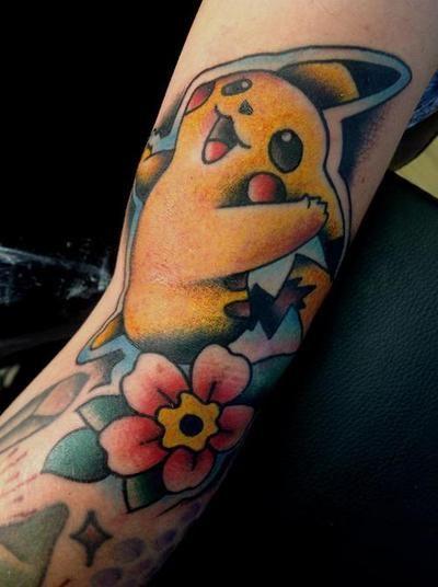 pikachu tattoos12