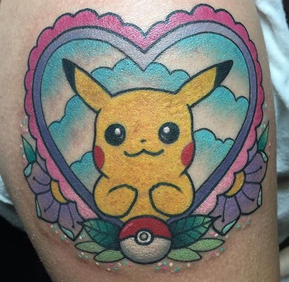 pikachu tattoos4