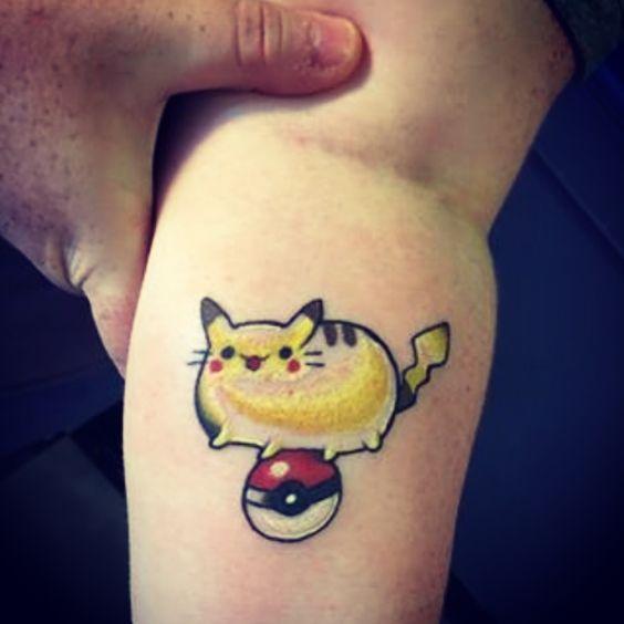 pikachu tattoos6