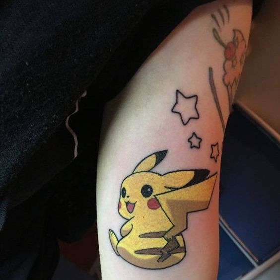 pikachu tattoos9