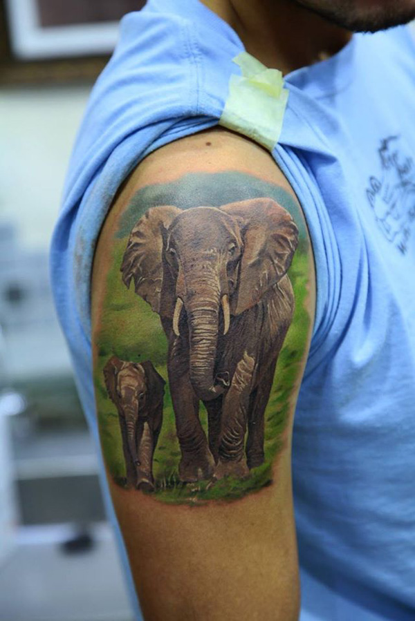 elephant-tattoos5