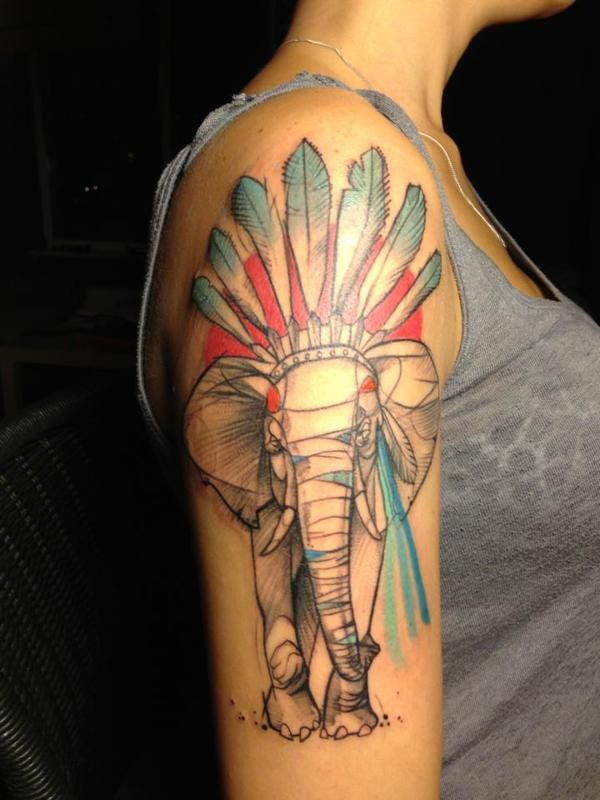 elephant-tattoos7