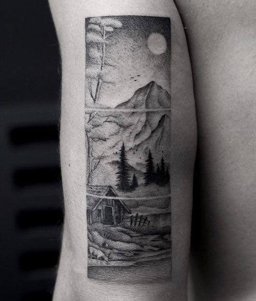 33-gorgeous-landscape-tattoos-inspired-by-nature32