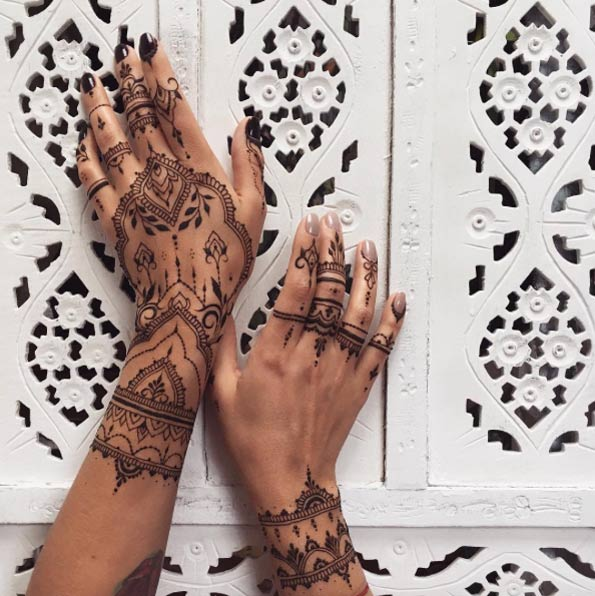 Henna Style Tattoos Lace Tattoo: Henna Tattoo Designs For Women