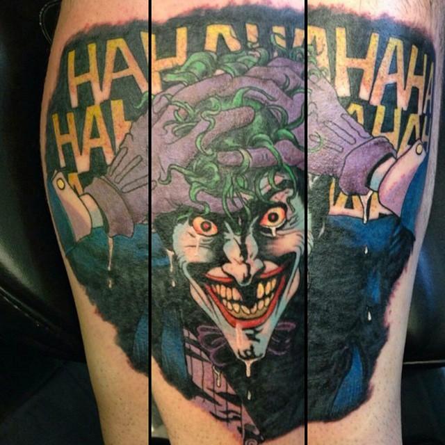 Amazing_joker_piece_by_adn2991_joker_inked_colortattoo_tattoosofig_tattooartist_tattooshop_comictattoos_legtattoo_tattoo