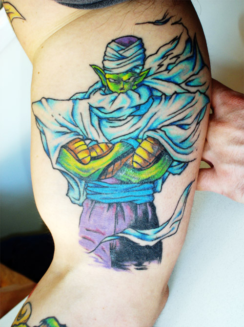 Tattoo ideas featuring piccoloonpoint tattoos for Dragon balls tattoo