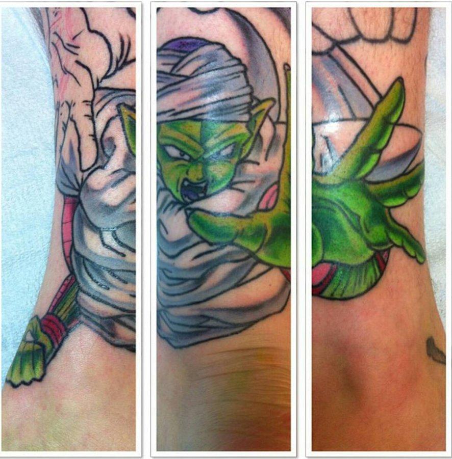 Tattoo ideas featuring piccolo for Dragon balls tattoo