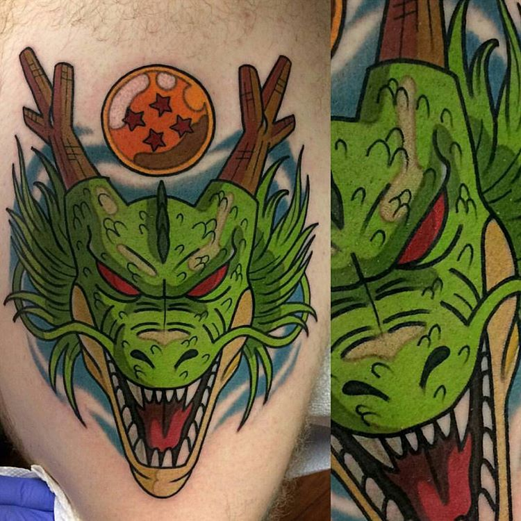 on point tattoo ideas featuring shenron shenlongonpoint tattoos. Black Bedroom Furniture Sets. Home Design Ideas