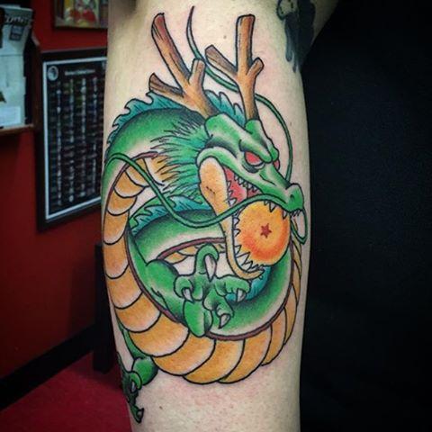 Kid Goku And Kid Vegeta On point Tattoo ideas ...