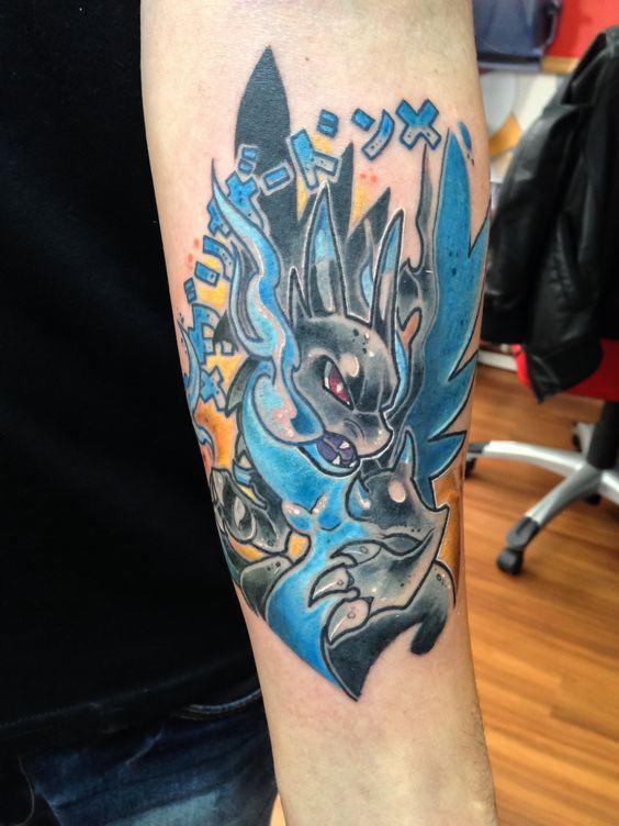 Charizard tattoos15