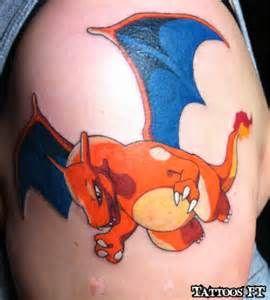 Charizard tattoos8