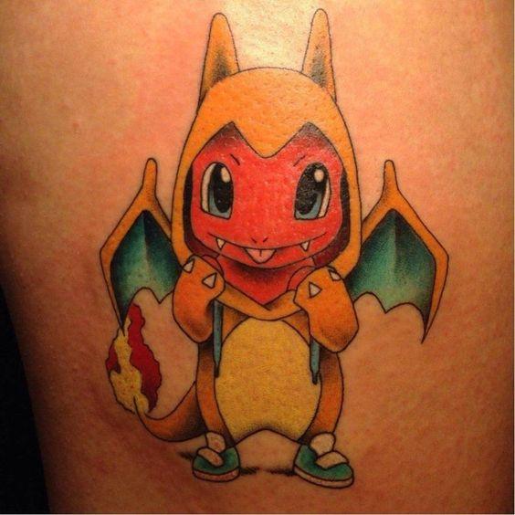 Charizard tattoos9