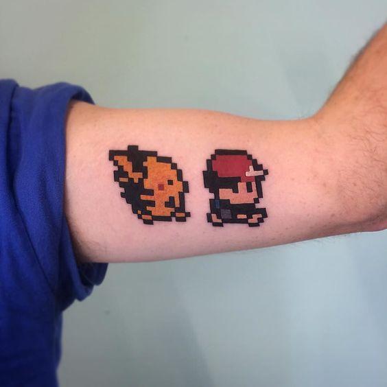 pikachu tattoos1
