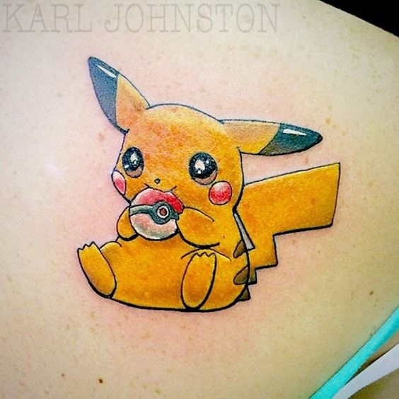pikachu tattoos2