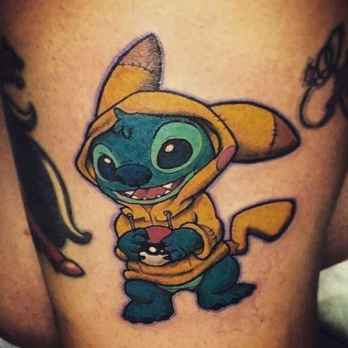 pikachu tattoos3