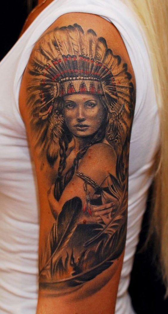 Native American On point Tattoo ideas