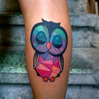 Tattoo pictures – Owls