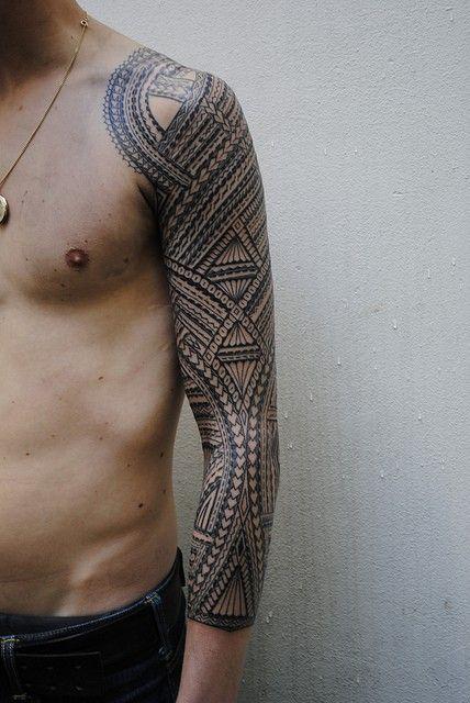 tribal-sleeve-tattoos2