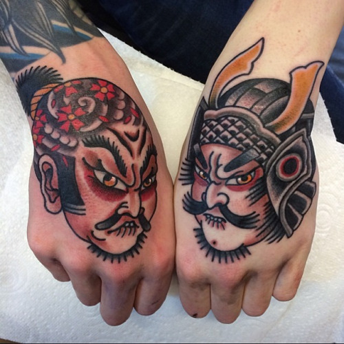 Hand Japanese ideas - warrior tattoo