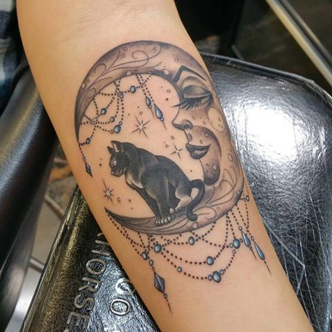 Tattoo designs – Moons
