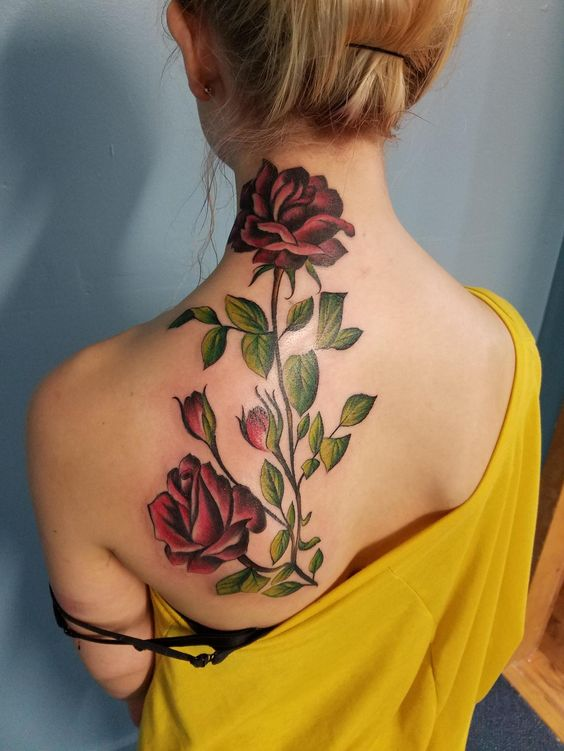Rose Tattoo Ideas For Women Onpoint Tattoos