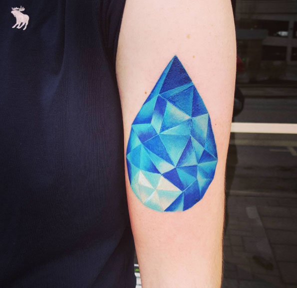 20 Awesome Blue Tattoo Designs