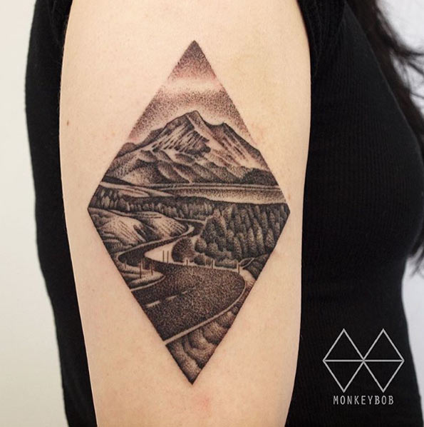 33-gorgeous-landscape-tattoos-inspired-by-nature33