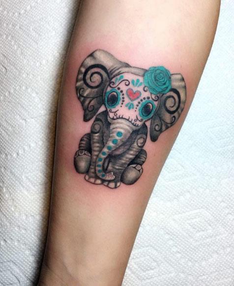 Elephant Tattoo Ideas: Elephant Tattoos: Designs, Ideas, Meanings