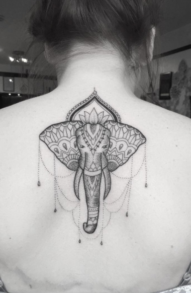Tribal elephant.