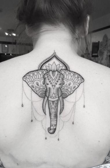Tribal elephant.