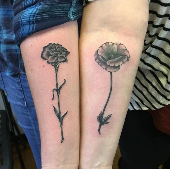Brother and Sister Tattoos: Connected with Your Blood | Onpoint tattoos