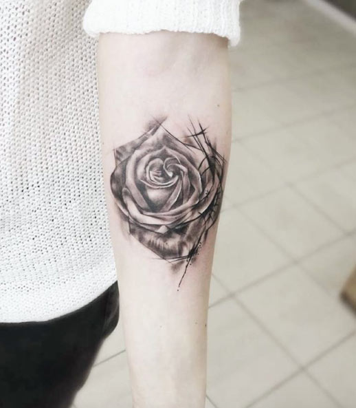 rose-tattoo-forearm