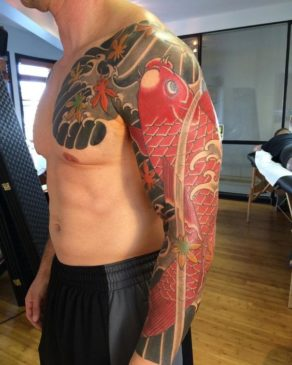 Traditional Japanese Tattoo Meanings - Koi