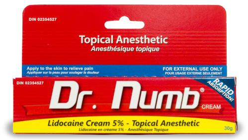 Dr Numb Tattoo cream