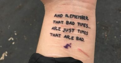 Tattoos to cover self harm scars | wrist quote