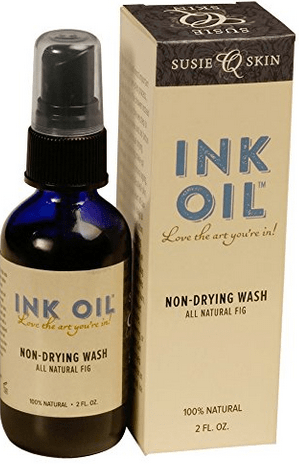 Tattoo Aftercare Ink Oil Tattoo Wash 100% Natural