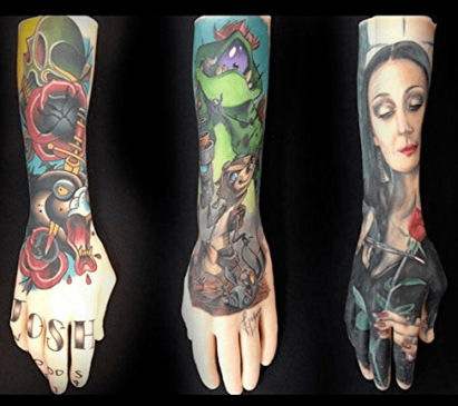 Practice tattooing - Silicone Arms