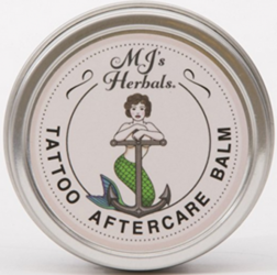 MJ's Herbals good cream for tattoos